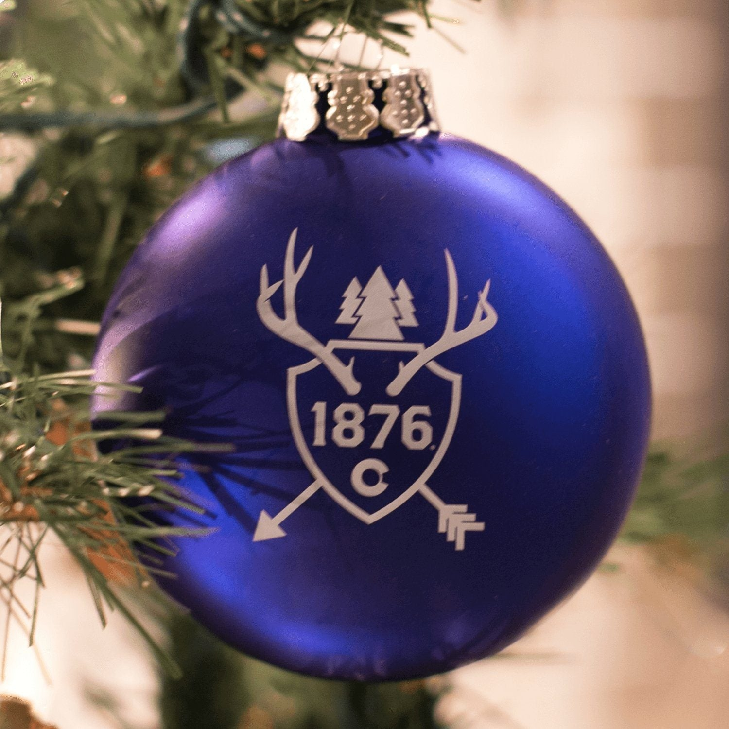 1876 Trophy Ornament - 1876 | The State of Exploration