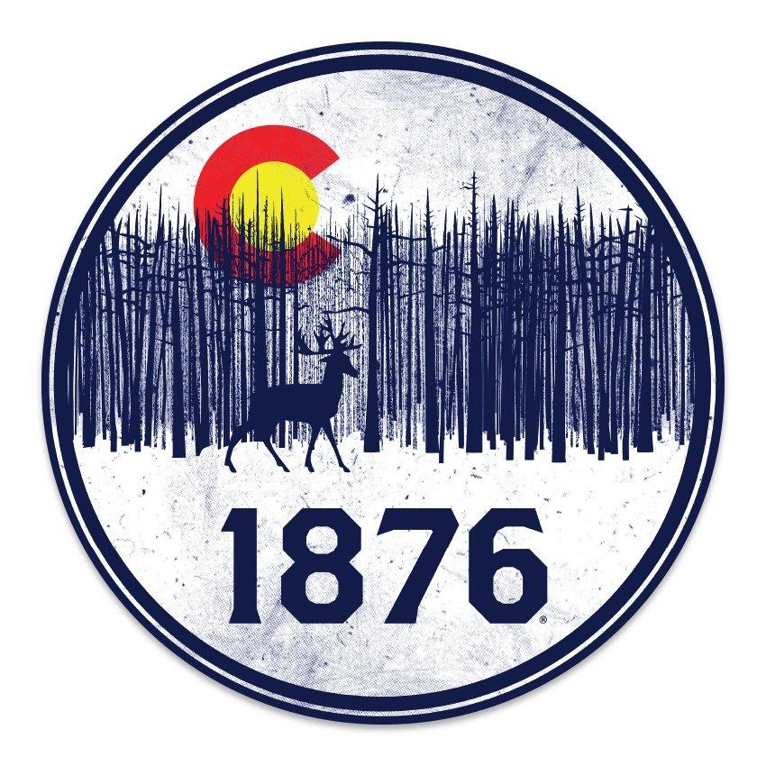 Vinyl Decals - 1876 | The State of Exploration