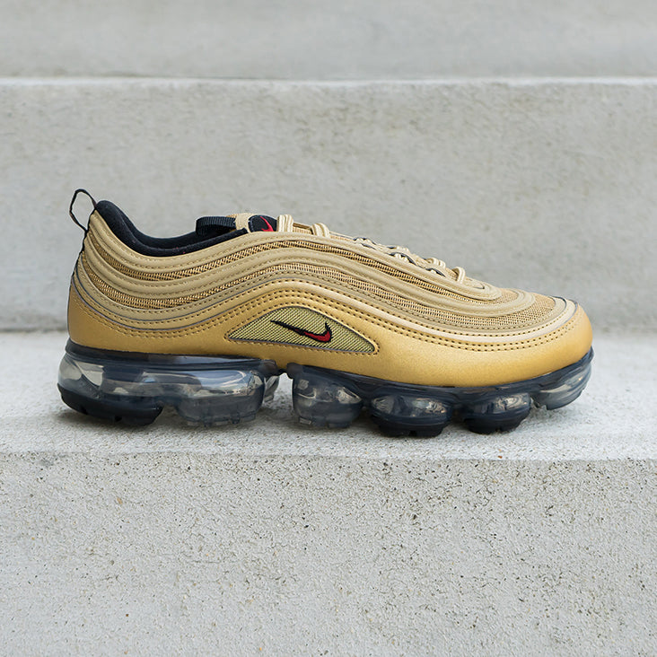 "Nike Vapormax 97 ""Metallic Gold"" Available Now"
