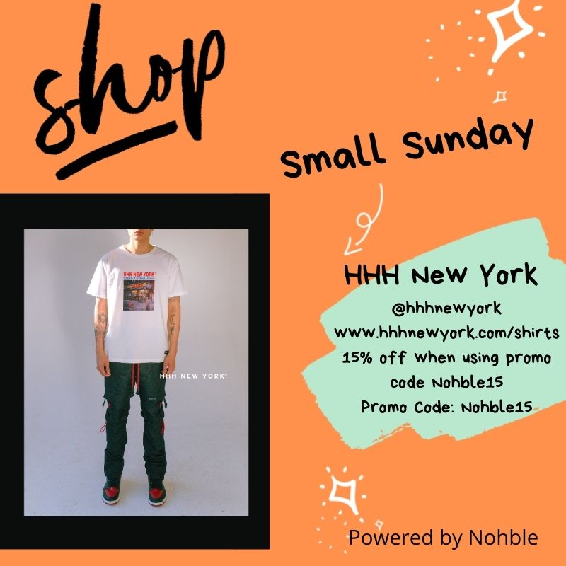 Shop Small Sunday - HHH New York