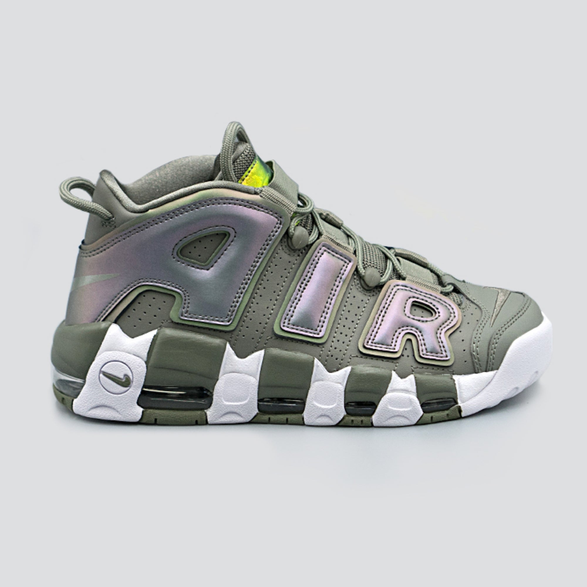"Womens Nike Air More Uptempo "" Shine "" available in-store now!"