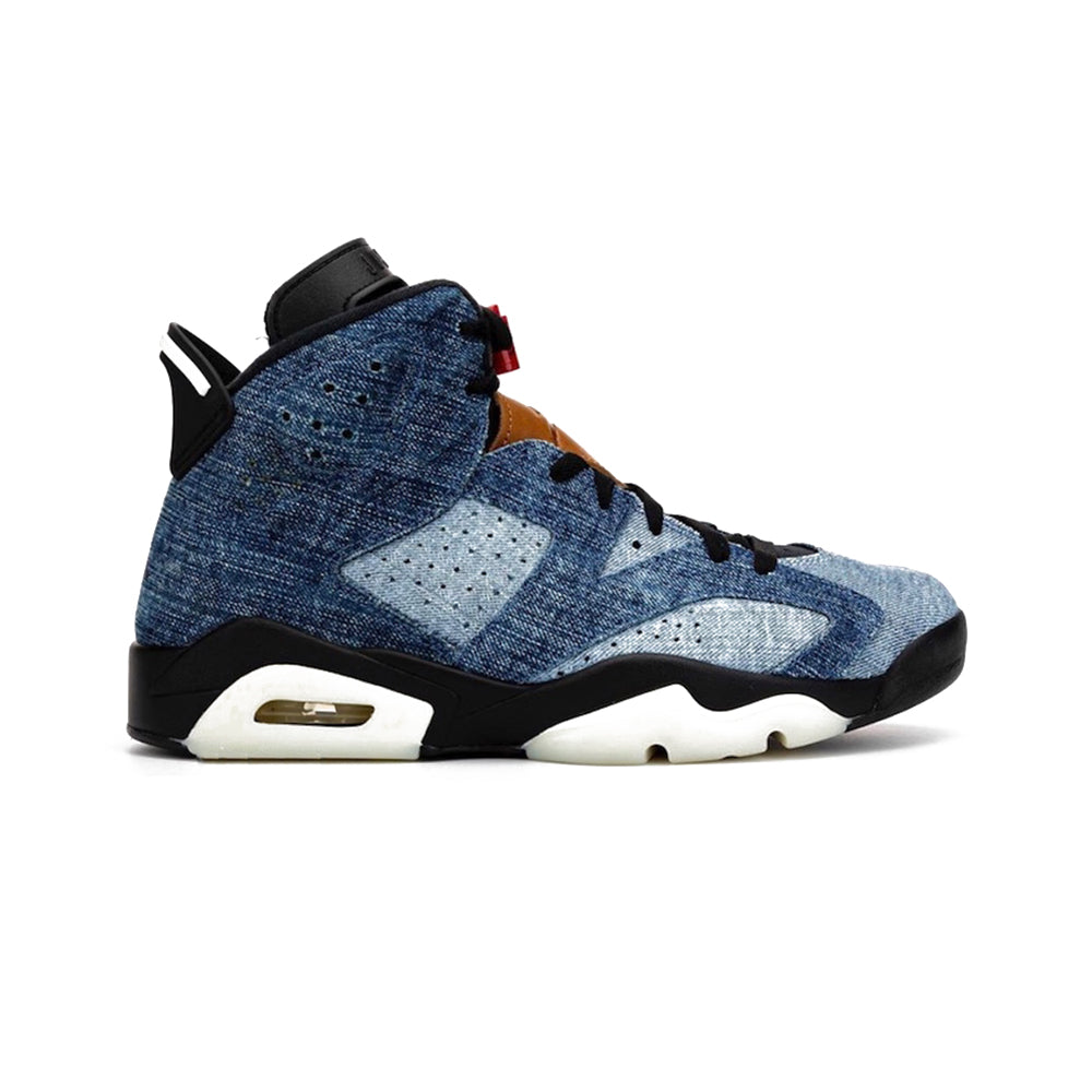 "Air Jordan Retro 6 ""Washed Denim"" Available 12/28"