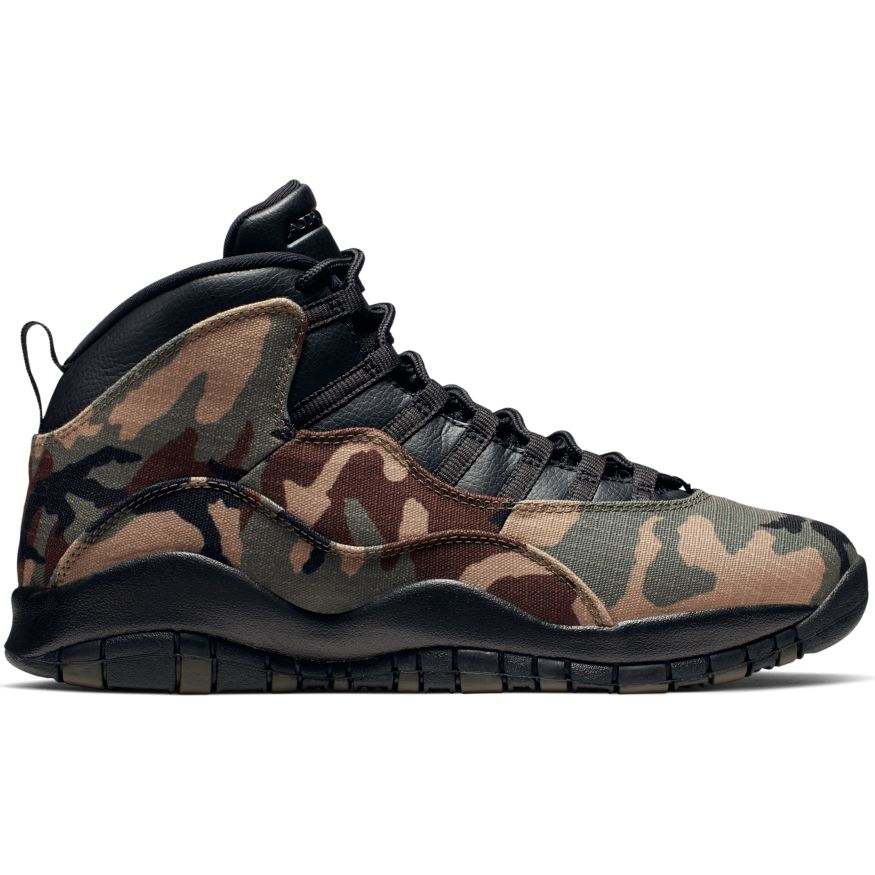 "Air Jordan Retro 10 ""Woodland Camo"" Available 8/31"