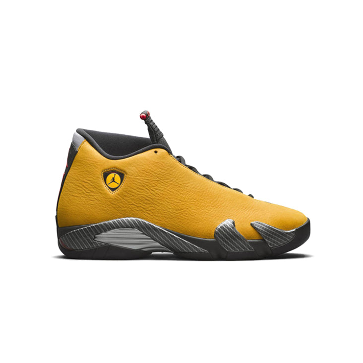 "Air Jordan Retro 14 "" Yellow Ferrari"" Available 6/22"