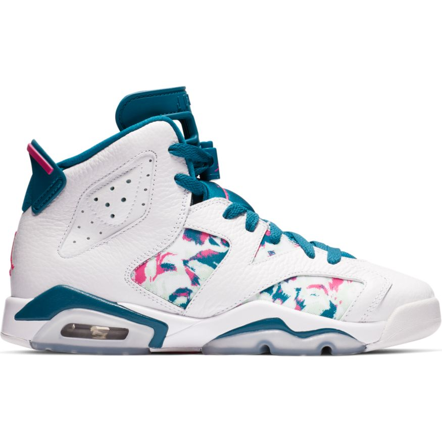 "Air Jordan GS Retro 6 ""Green Abyss"" Available 3/2"