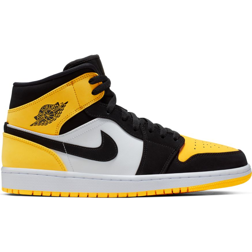 "Air Jordan 1 Mid ""Yellow Toe"" Available Now"