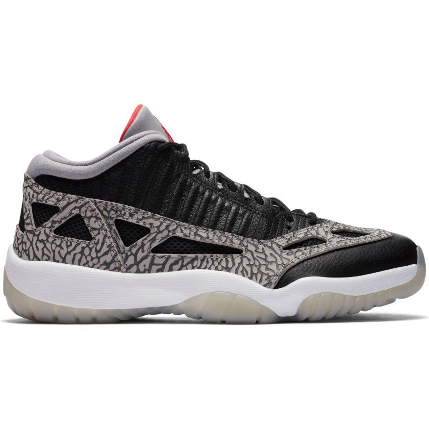"Air Jordan Retro 11 Low IE ""Black Cement"" Available 7/16!"