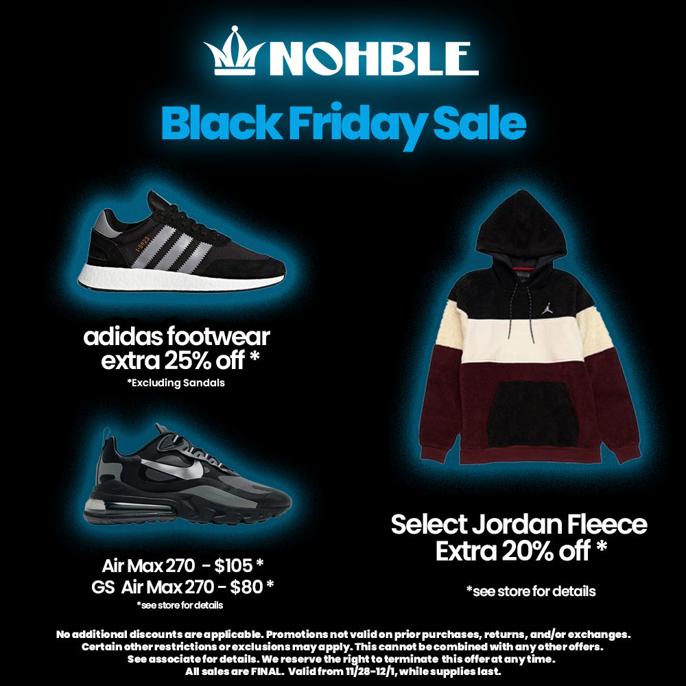 Black Friday At Nohble!