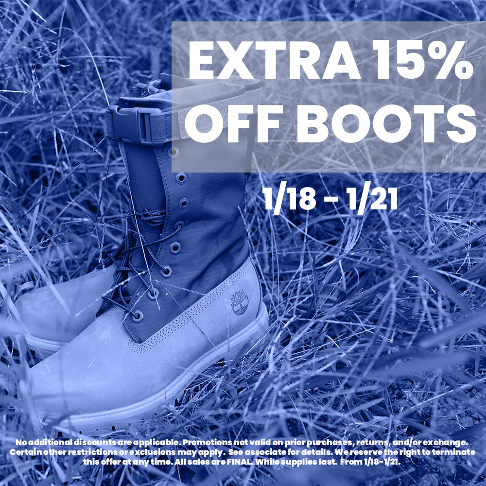 Winter Sale: 15% Off Boots