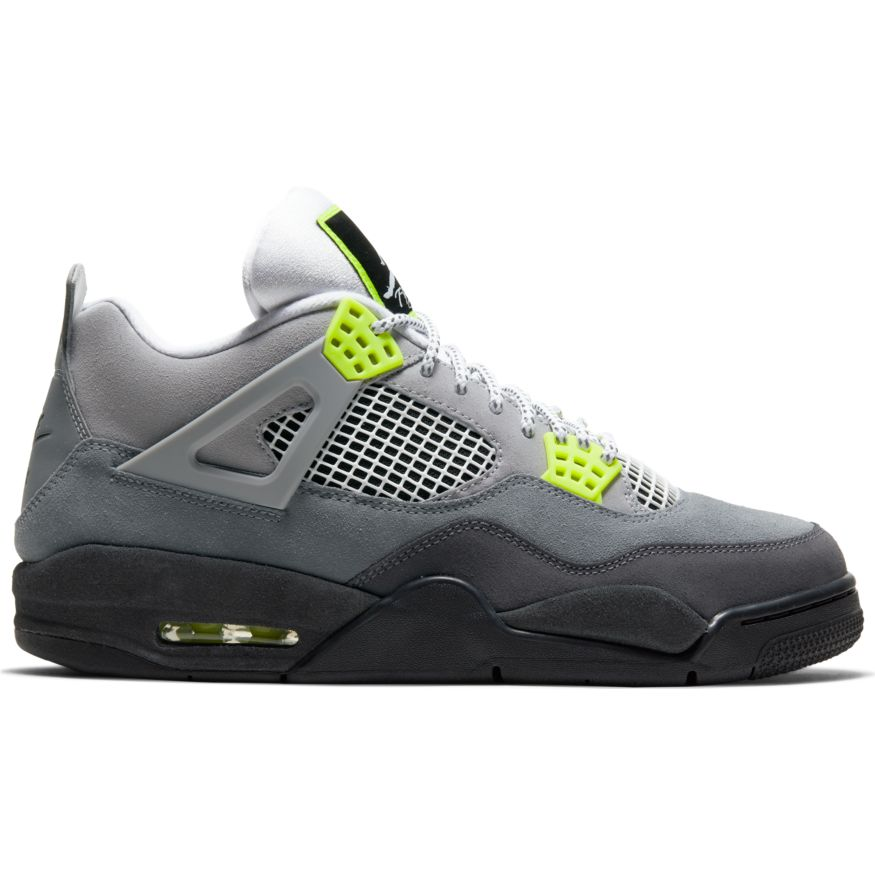"Air Jordan Retro 4 ""Neon"" Available 3/21"