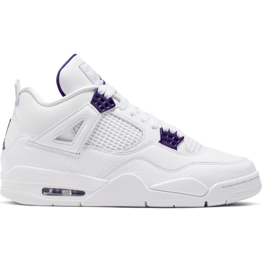 "Air Jordan Retro 4 ""Purple Metallic"" Available 05/22/2020 10:30AM"