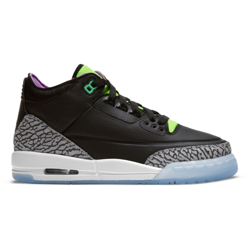 "GS Air Jordan Retro 3 SE ""Electric Green"" Available 5/13!"