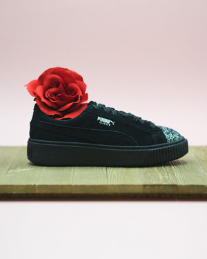 Womens Puma Suede Platform Gem Available In-store now!