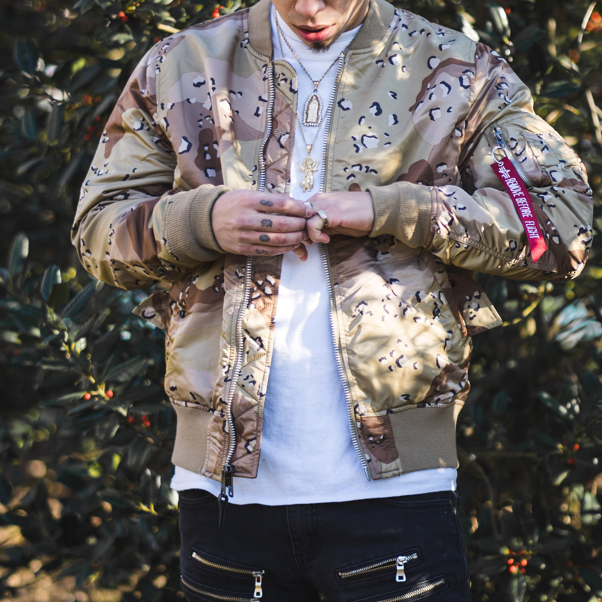 "Alpha Industries MA-1 ""Double Camo""  Available now!"