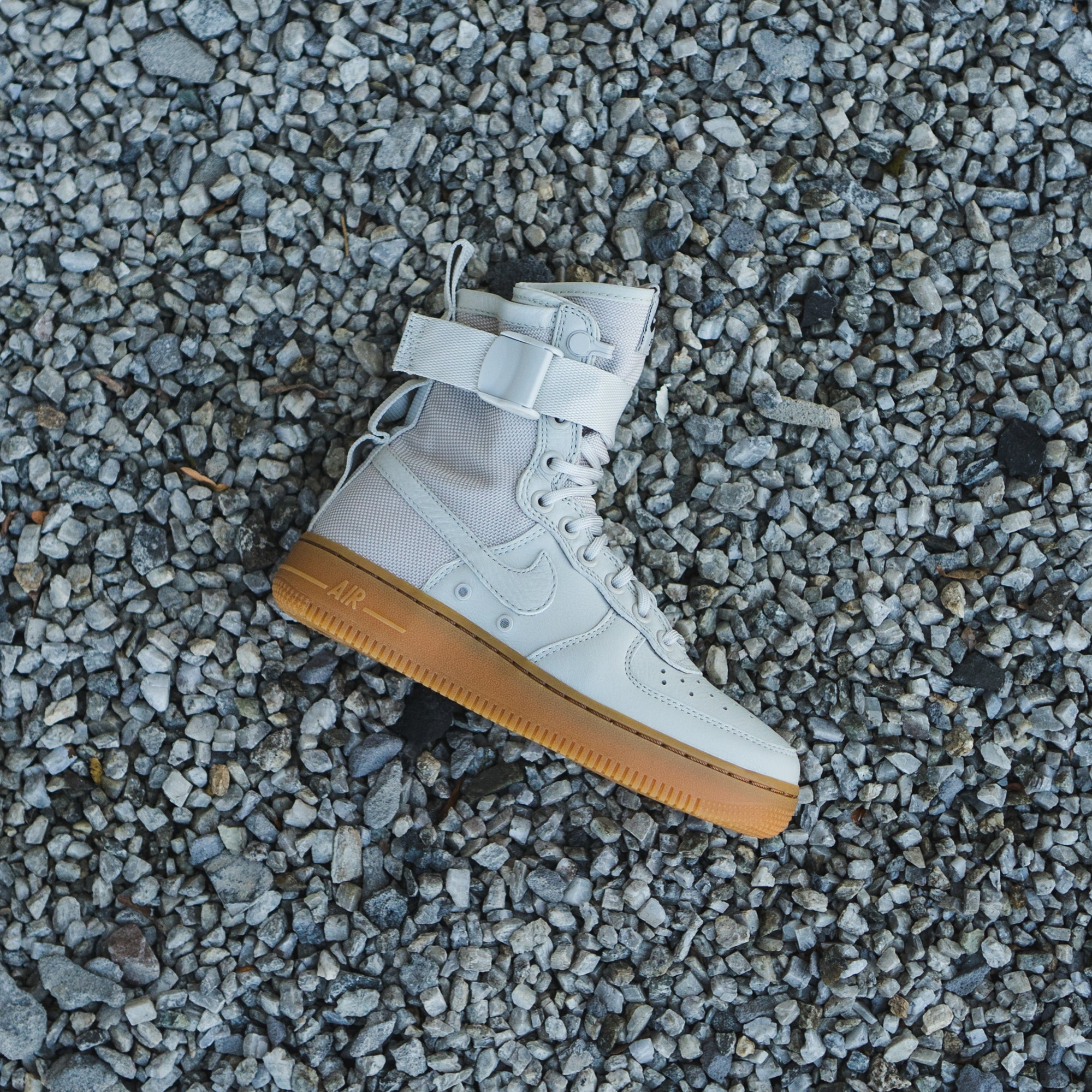 "Womens Nike SF AF1 "" Light Bone "" available in-store now!"