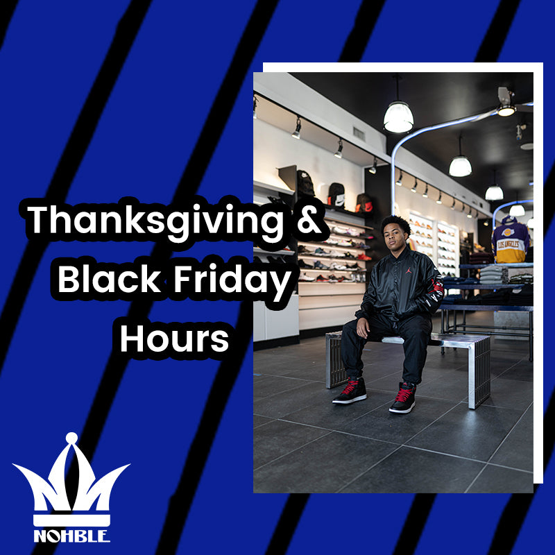 2020 Thanksgiving & Black Friday Hours!