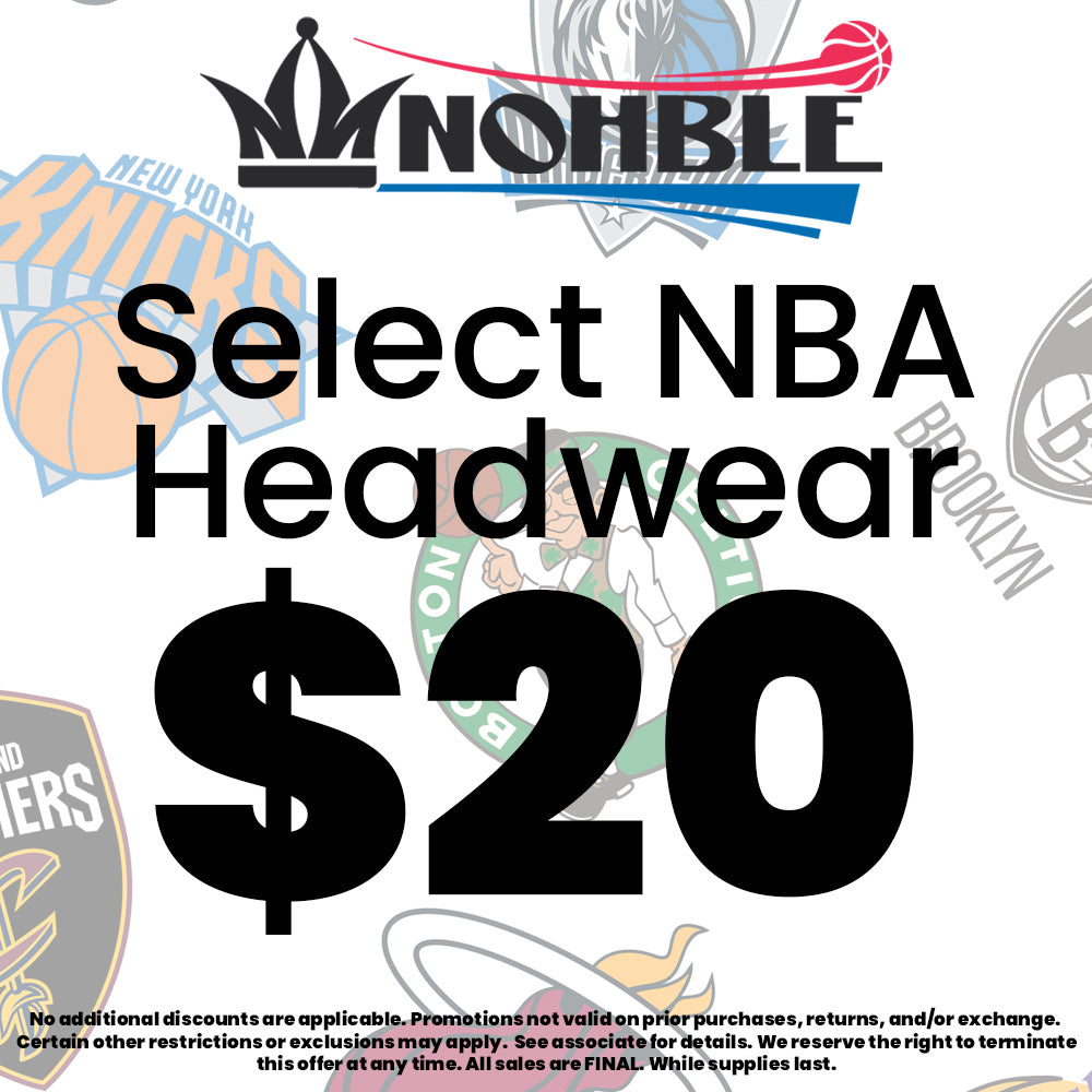 Select NBA Hats $20 In-Store Starting 4/13