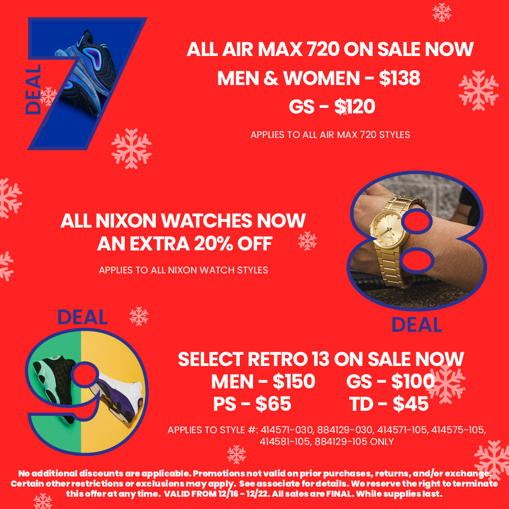 12 Deals Of Christmas Week 3 Starts 12/16 - 12/22