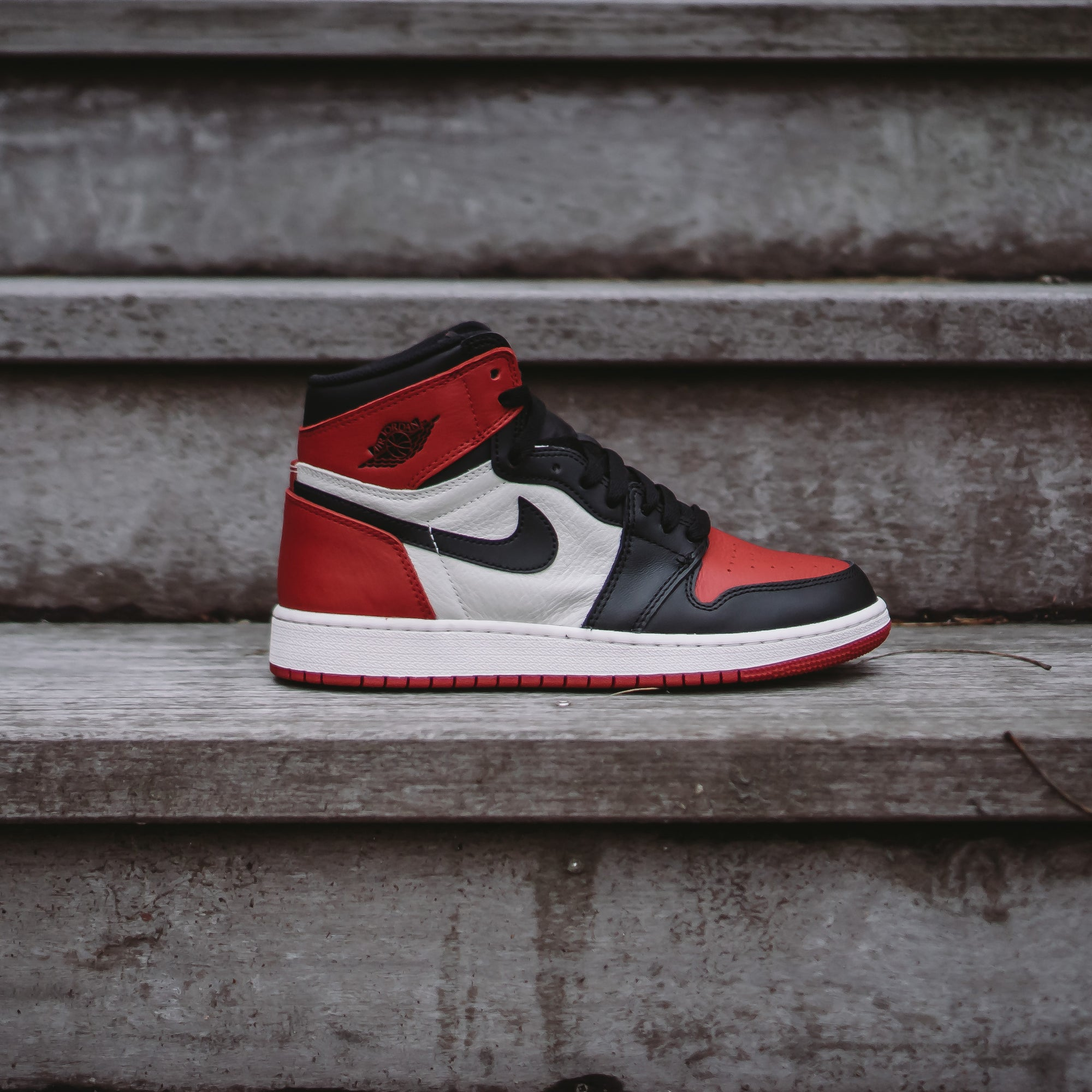 "Air Jordan Retro 1 ""Bred Toe"" Available 2.24"