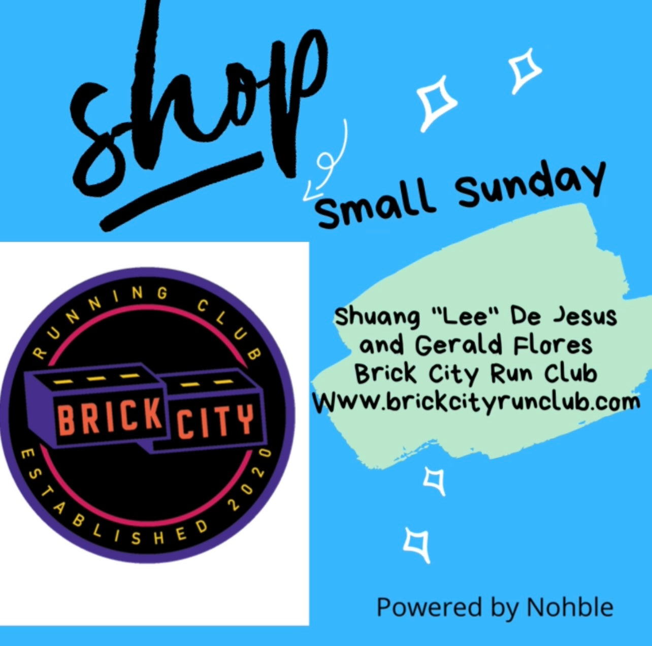 Shop Small Sunday - Brick City Run Club