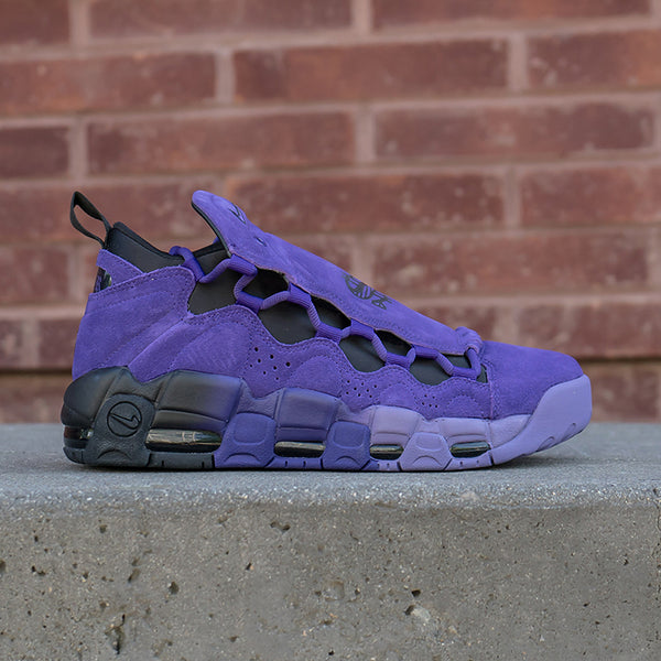 the latest 79a5d 82458 Nike Air More Money QS PRPL Available Now!