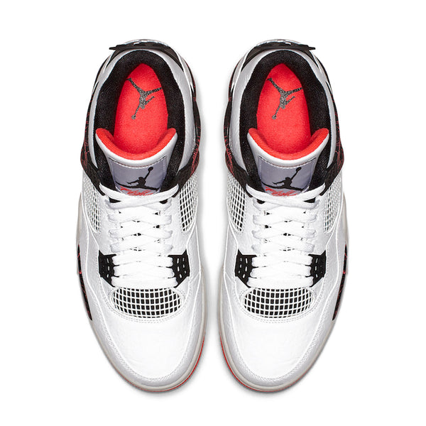 innovative design efa2e 0e279 308497116 - Jordan - Men - Retro 4 - White Bright Crimson -  189.99