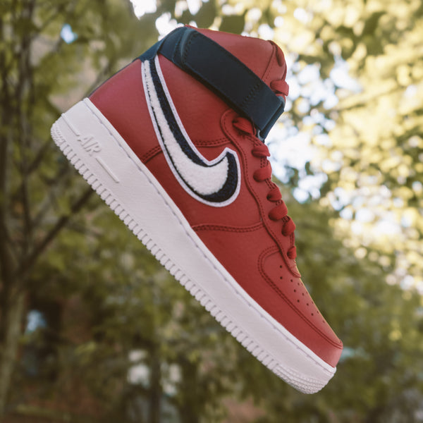 pretty nice 0eb2f ac74d Nike Air Force 1 High LV8 In Red Available Now!