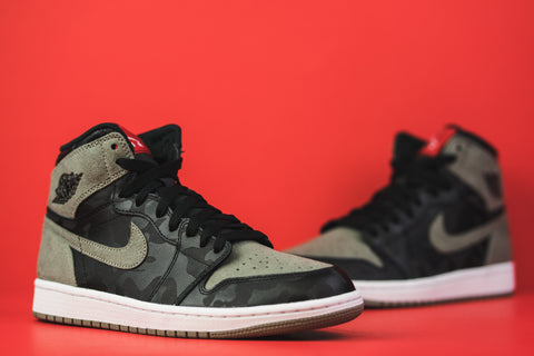 "on sale fd0df 46352 Air Jordan Retro 1 High "" Shadow Camo """