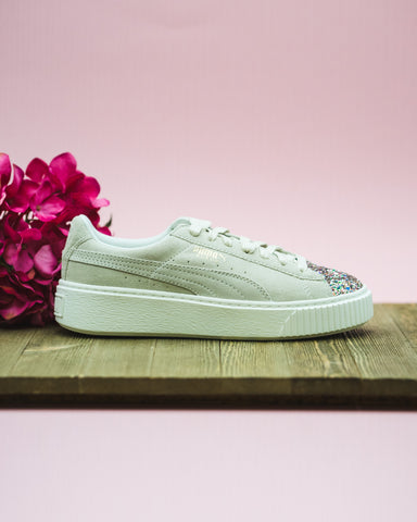 dabec8a2a73d Womens Puma Suede Platform Crushed Gem Available In-store now! – Nohble