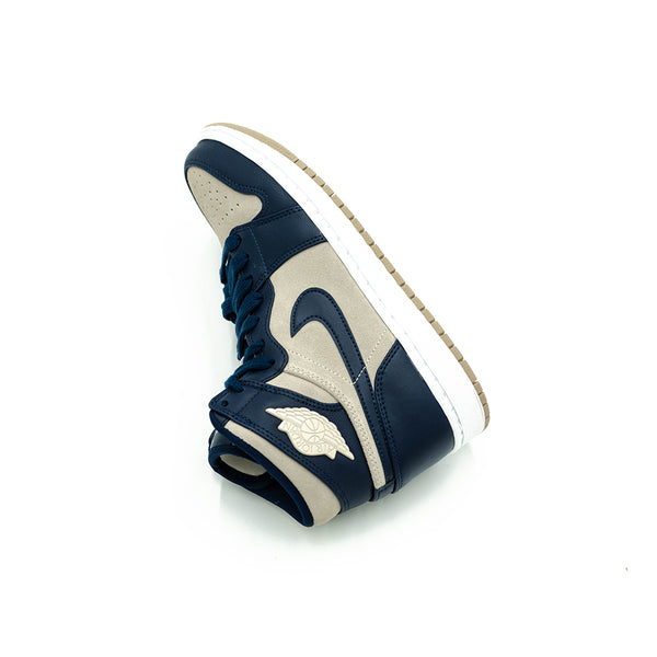77fccc6f7a1 AQ9131401 - Jordan - Women - W Retro 1 PREM - Midnight Navy/Light Cream/ White - $144.99