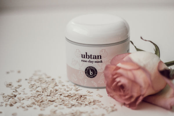 ubtan rose clay mask