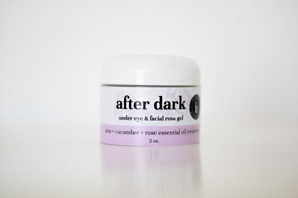 after dark under-eye & facial rosa gel