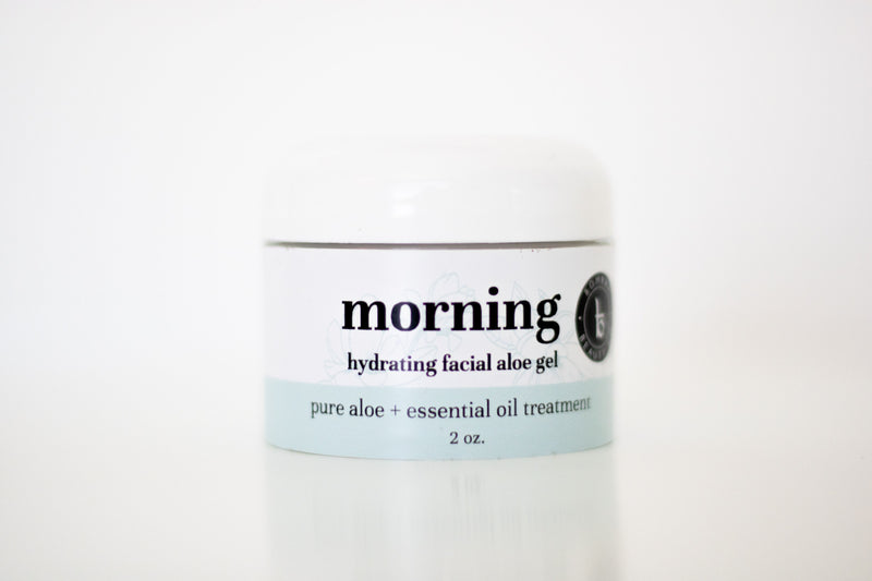 morning hydrating facial aloe gel