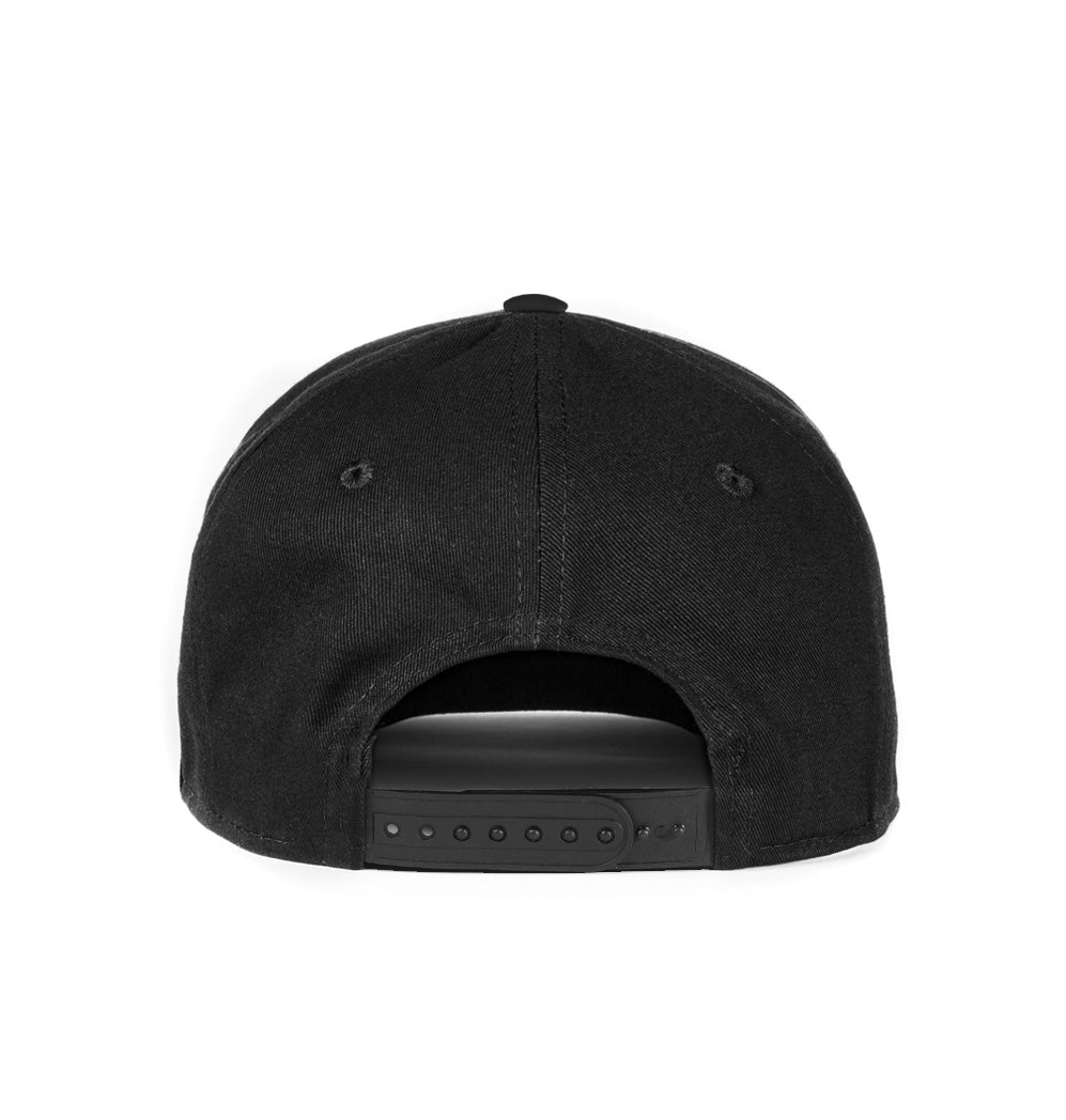 BLACK LOGO BROWN/BLACK HAT