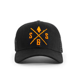 BLAZE LOGO BLACK  HAT
