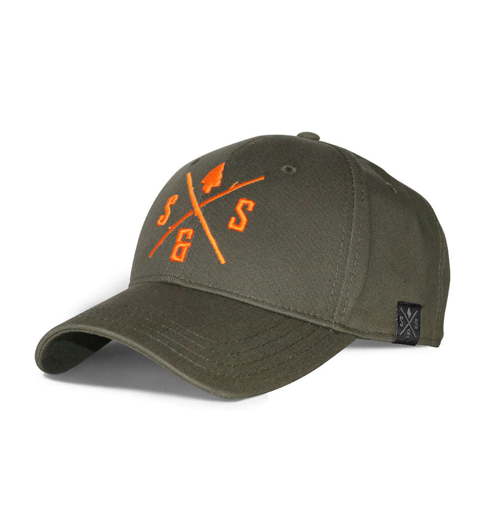 BLAZE LOGO MILITARY GREEN HAT