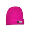 Winter hat pink 2 in 1 toque
