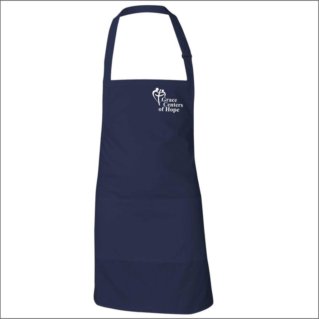 Full Apron with Embroidered Logo