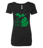 MI Hoppy Place Ladies' Vneck Tee