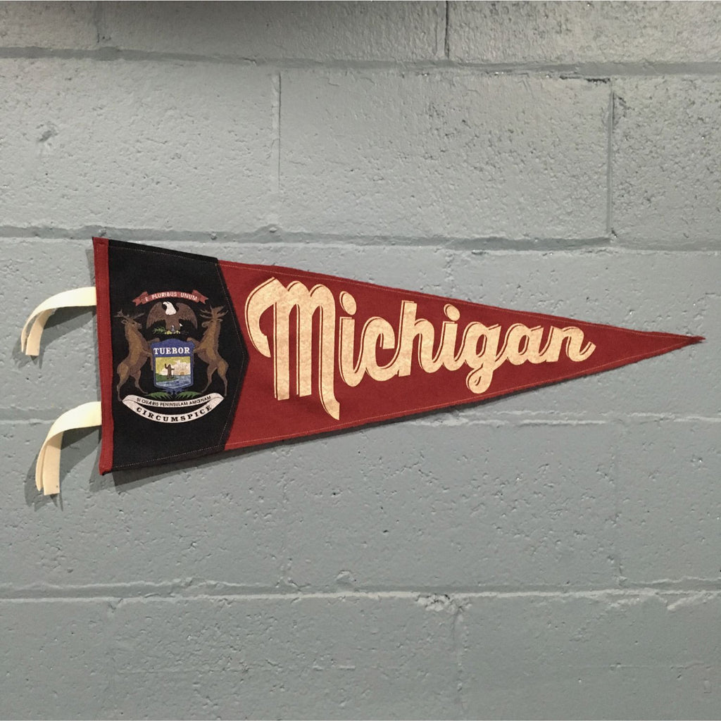 Michigan Pennant Flag
