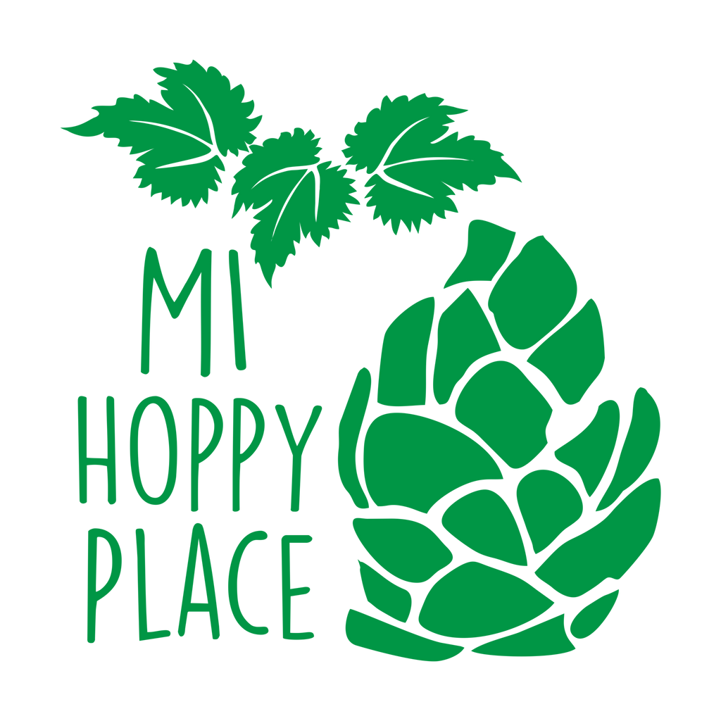 MI Hoppy Place Decal