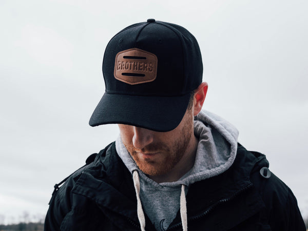 Brothers Leather Patch Hat