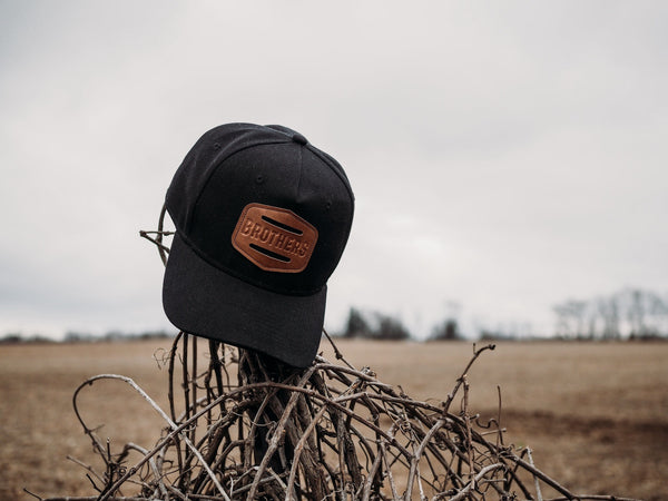 Brothers Leather Patch Hat - Brothers Leather Supply Co.