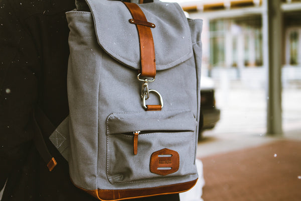 The Motown Backpack - Brothers Leather Supply Co.