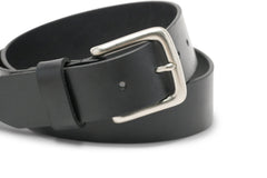 Brothers Leather Belt // Black - Brothers Leather Supply Co.