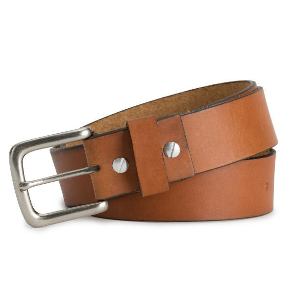 Brothers Leather Belt // Tan
