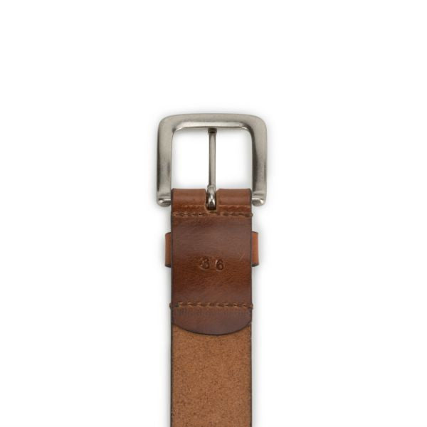 Brothers Leather Belt // Light Brown - Brothers Leather Supply Co.