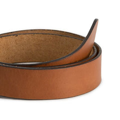Brothers Leather Belt // Tan - Brothers Leather Supply Co.
