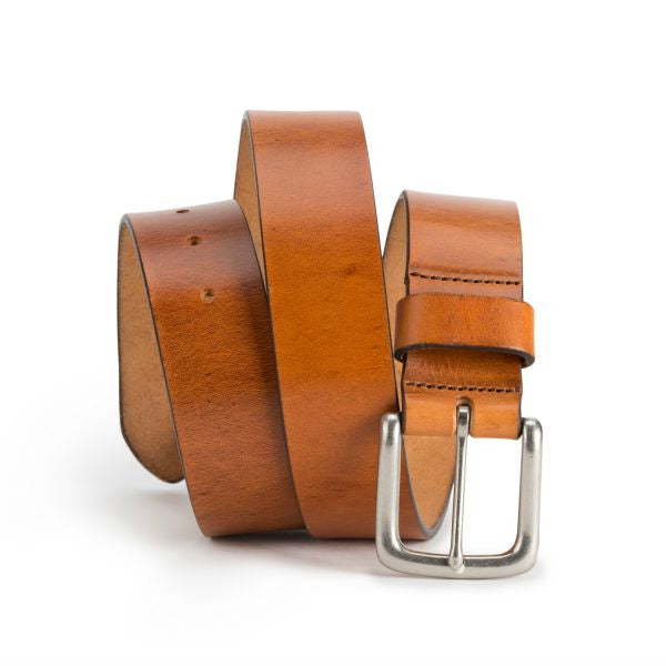 Brothers Leather Belt // Light Brown