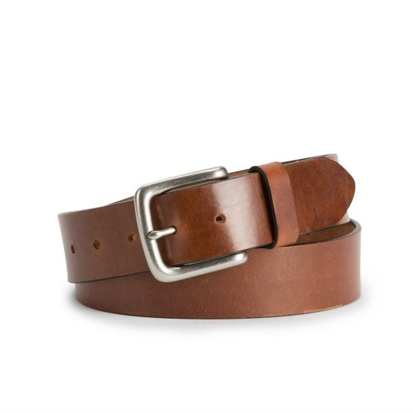 Brothers Leather Belt in Dark Brown